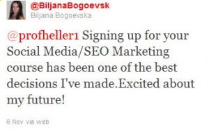 Atlanta Social Media Marketing / SEO Course Testimonial